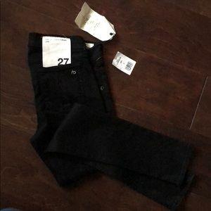 NWT Rag & Bone Jean Skinny Blk jeans Sz 27